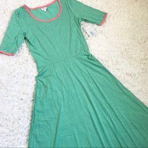 XL Spring Green LuLaRoe Ana Maxi Dress